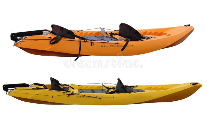 Two kayak royalty free stock images