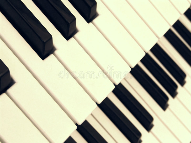 Two Keyboards stock image