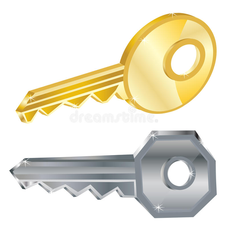 Download Two Keys Royalty Free Stock Photos - Image: 28362918