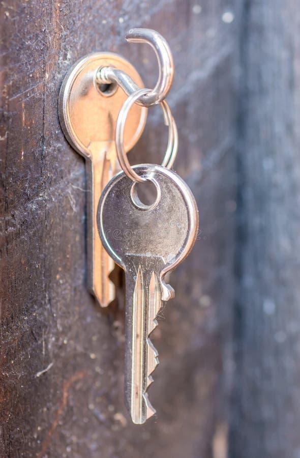 Key with spare key royalty free stock photo