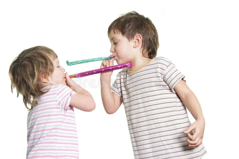Download Two kids playing stock photo. Image of infant, birthday - 23167908