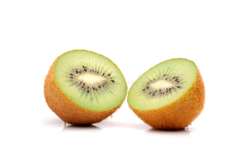 Two kivi stock image