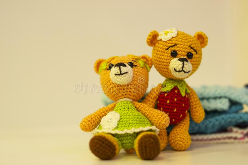 Amigurumi bears in various small sizes, all made with the Mini ... | 533x800