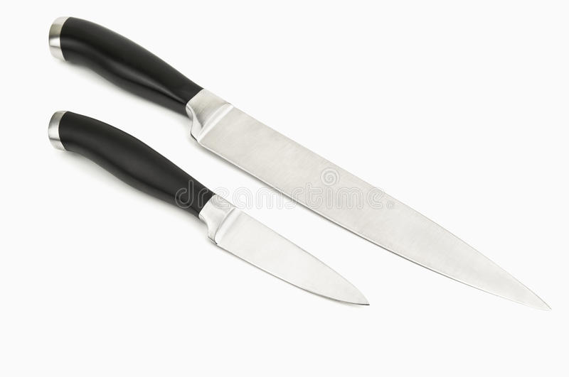 Two knives royalty free stock image