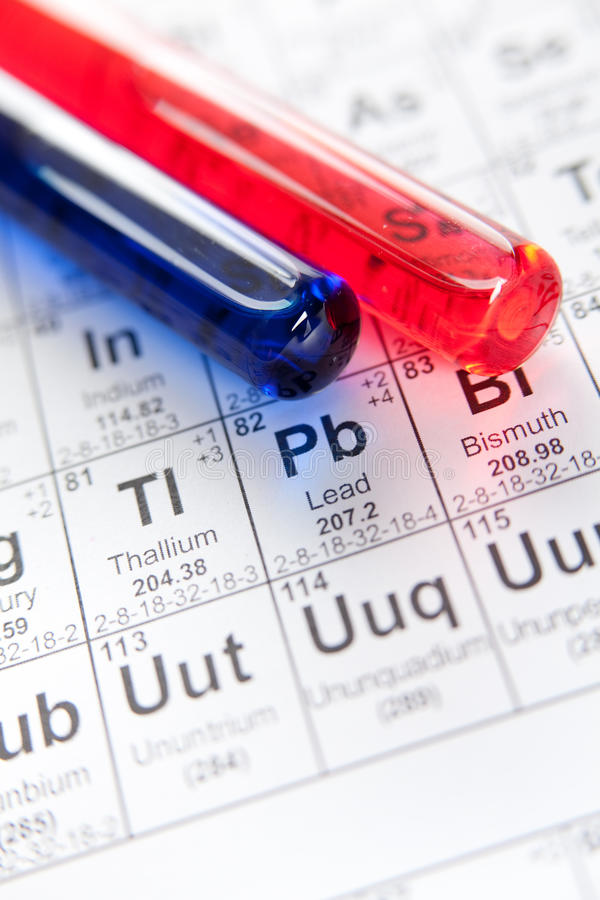 Download Two Laboratory Test Tubes Closeup Stock Image - Image: 26000851