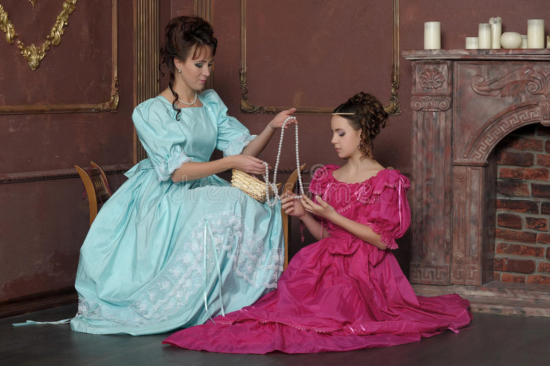 Download Two Ladies Royalty Free Stock Photo - Image: 23648405