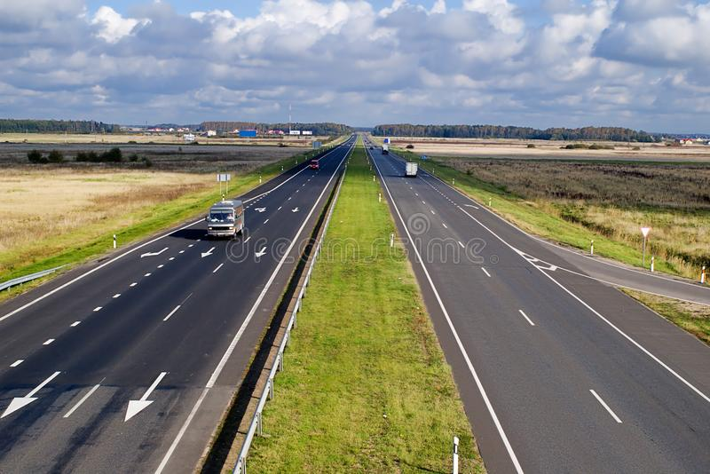 Two Lane Highway Free Stock Images