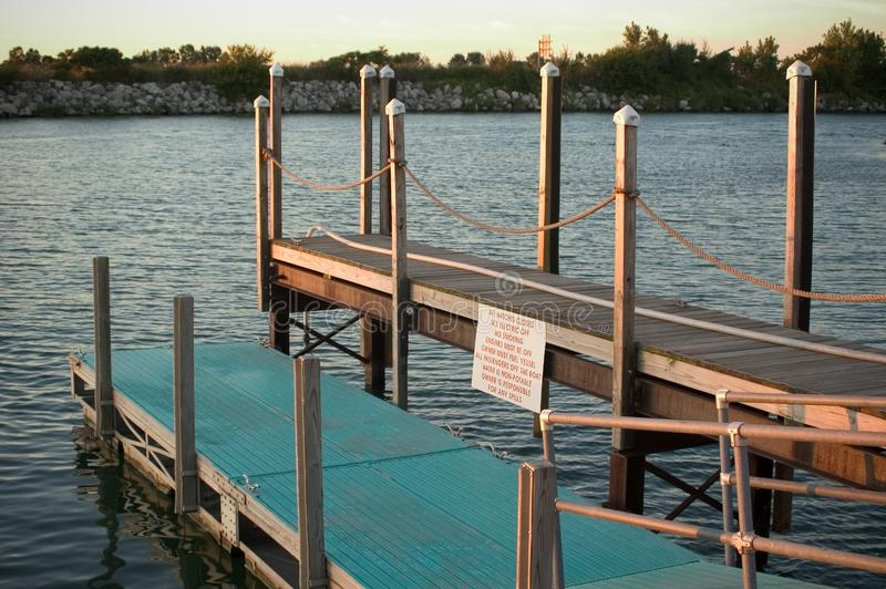 Two level dock