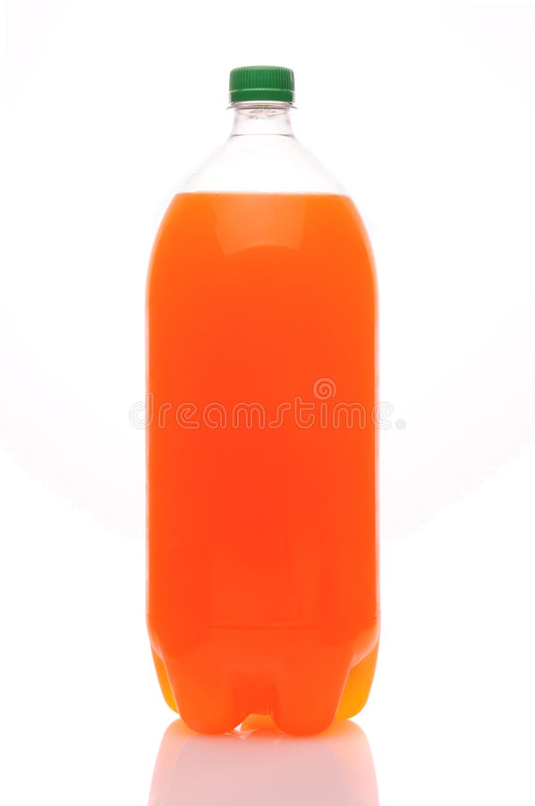 two liter bottle of orange soda stock photo image 18193910. Black Bedroom Furniture Sets. Home Design Ideas