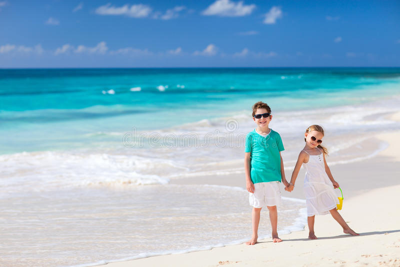 Download Two Kids At Beach Royalty Free Stock Image - Image: 29836656