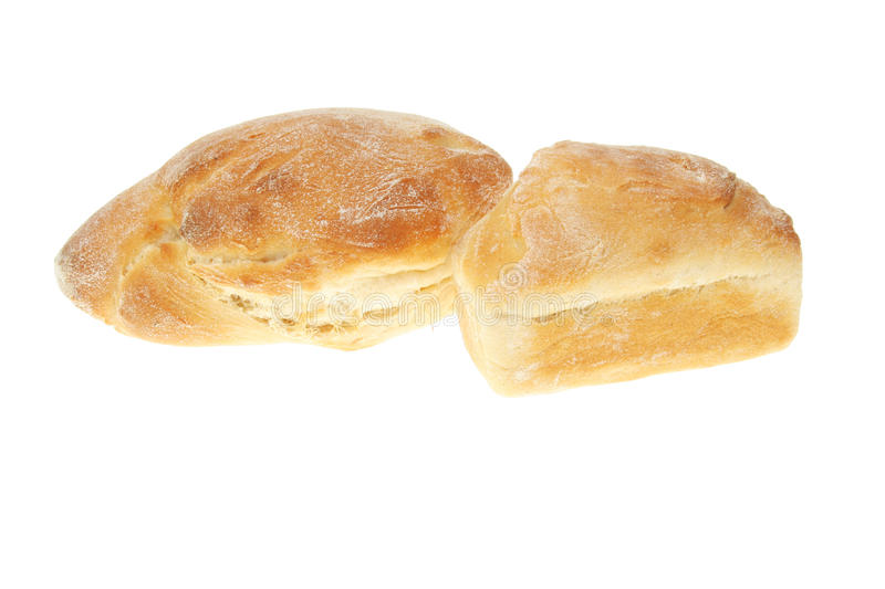 Two loaves royalty free stock photos