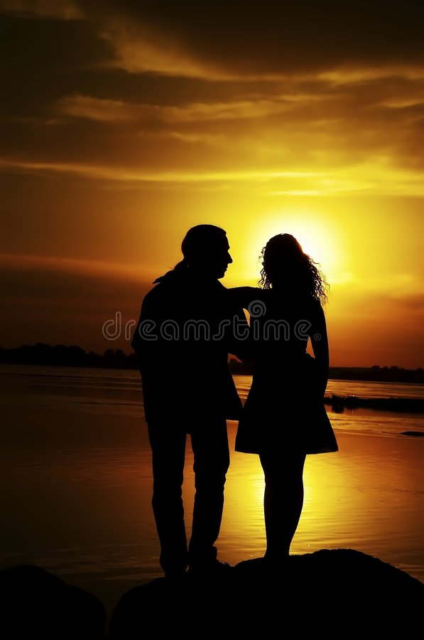 Two in love stock photos