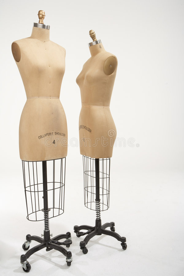 Two mannequins 02 royalty free stock images