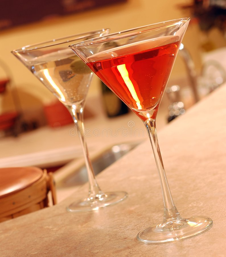 Download Two Martinis stock photo. Image of party, lounge, bartend - 4537428
