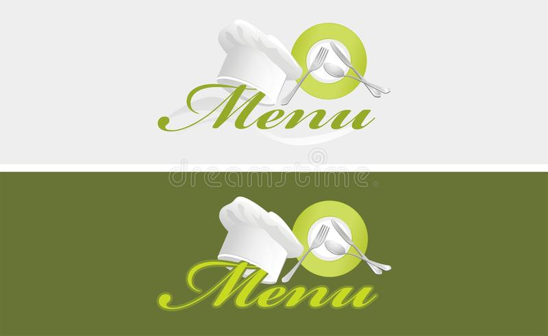 Download Two Menu Templates Royalty Free Stock Image - Image: 28334136