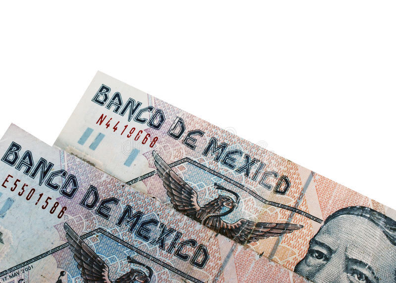 Two Mexican Pesos Stock Images