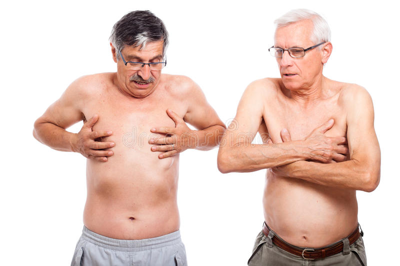 Download Two naked seniors stock image. Image of macho, adult - 25388973
