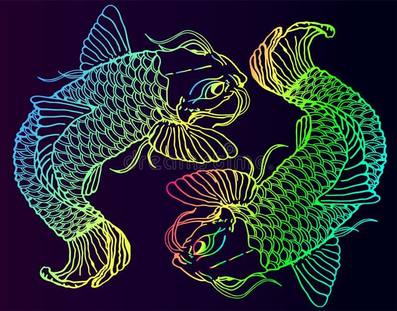 Catfish Tattoo Stock Illustrations – 73 Catfish Tattoo Stock