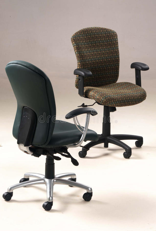 Free Two Office Chairs Royalty Free Stock Photography - 17105277