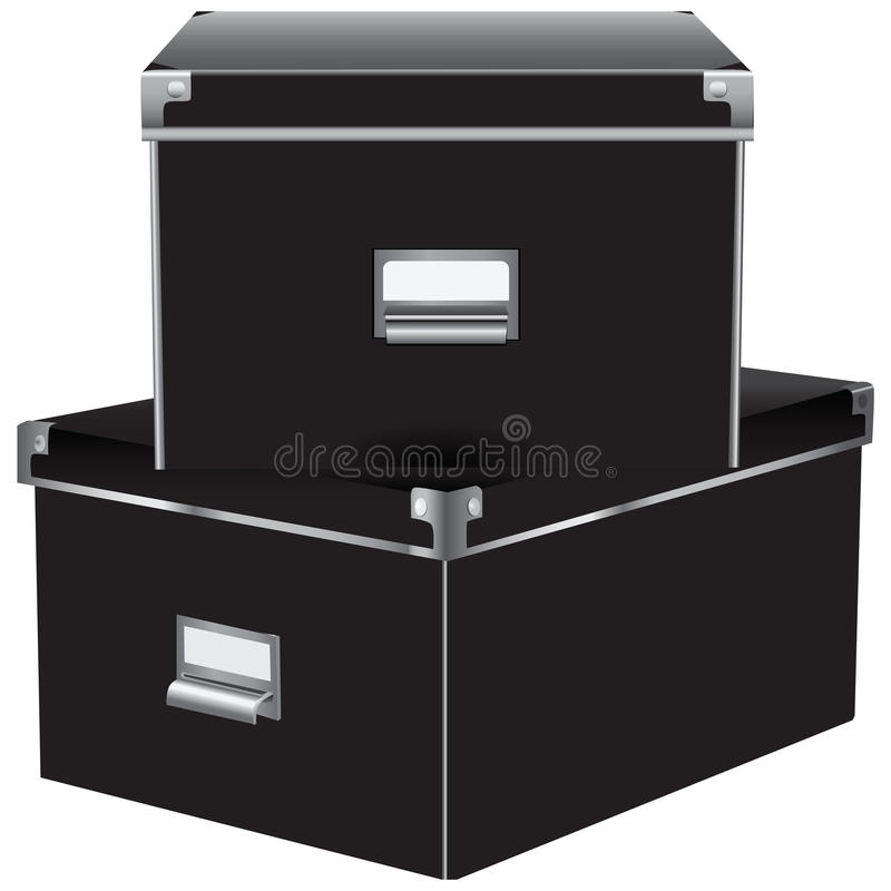 Download Two office container stock vector. Illustration of container - 28918200
