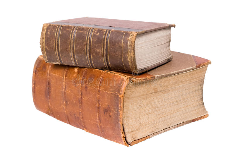 Download Two old books stock image. Image of learning, textbook - 19313145