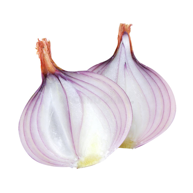Free Two Onions Cut Vegetable Stock Photos - 3287373