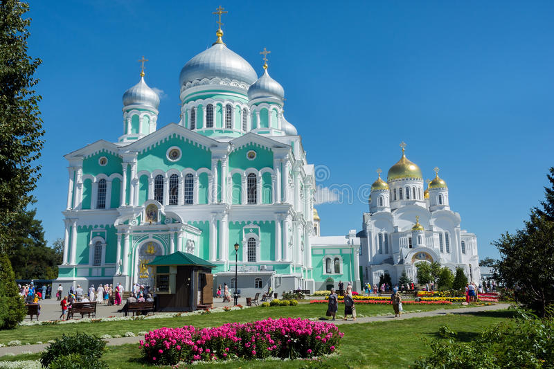 Two orthodox churches royalty free stock images