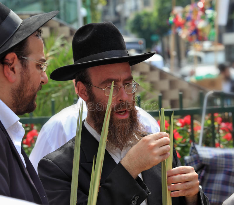 Download Two Orthodox Jews In Black Hats Picks Lula Editorial Stock Photo - Image: 26354118