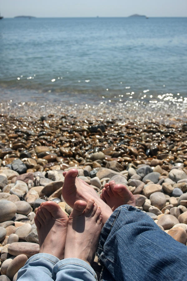 Download Two Pairs Of  Feet Royalty Free Stock Photography - Image: 20217797