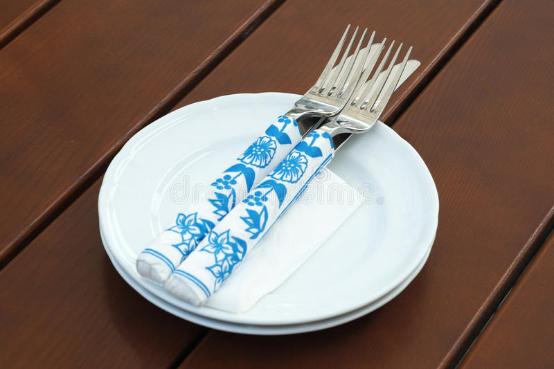 Download Two Pairs Of Knives And Forks Stock Photo - Image: 25518430
