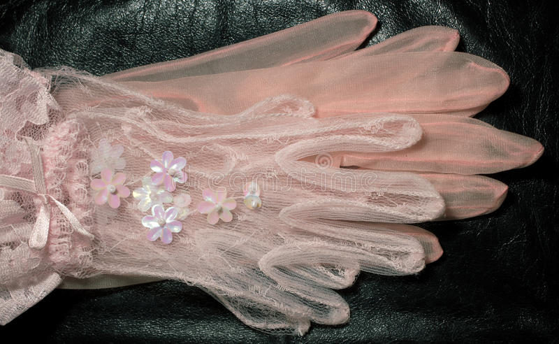 Download Two pairs of pink gloves stock image. Image of gloves - 22665231