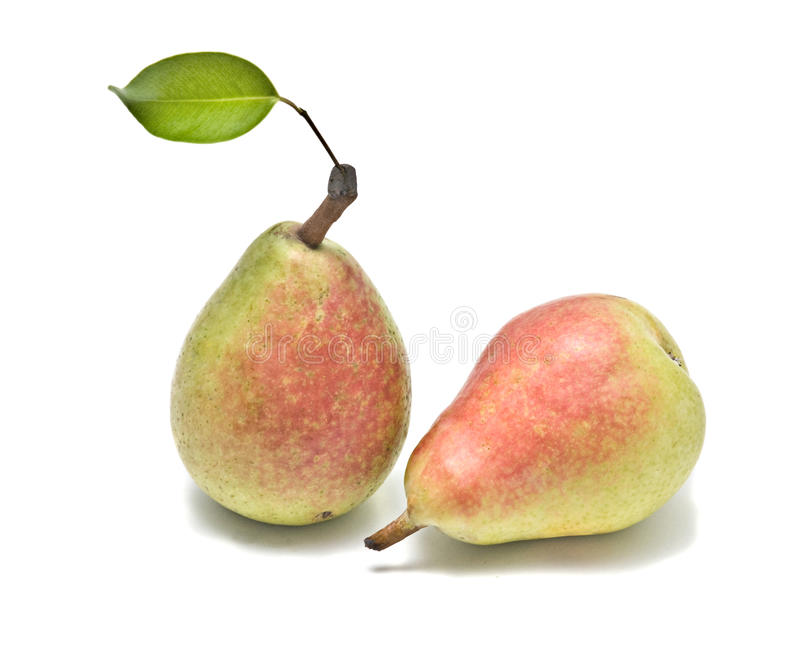 Download Two pears stock image. Image of background, nutritionl - 10546739