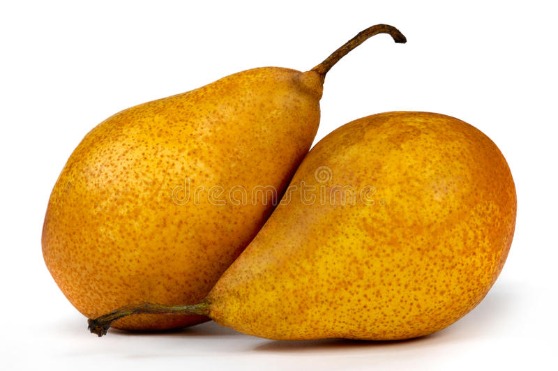 Download Two Pears stock image. Image of pear, pears, fresh, white - 13634491