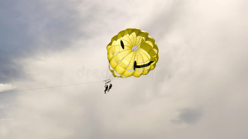 Download Two People Parasailing Royalty Free Stock Images - Image: 26118069