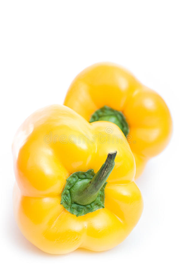Two pepper royalty free stock photography
