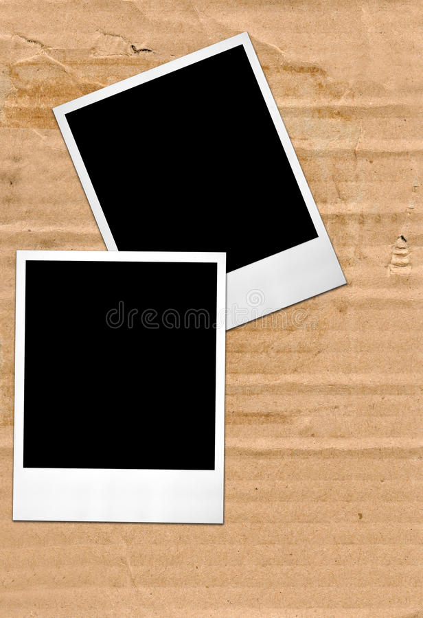 Download Two photo frames stock image. Image of close, photoframe - 12744887