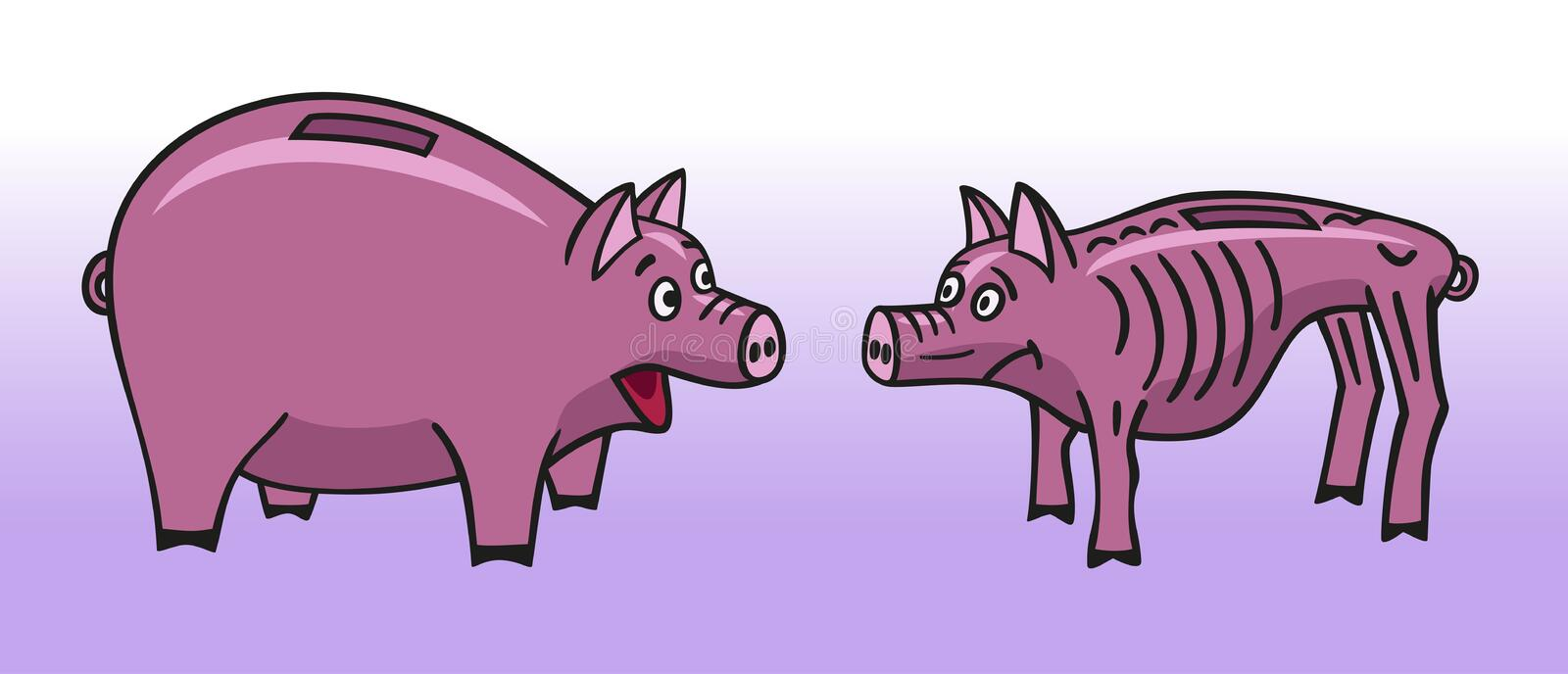 Two Piggy Bank. Stock Photography