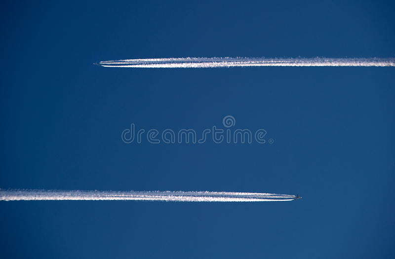 Download Two planes in the air stock image. Image of airtraffic - 22748339