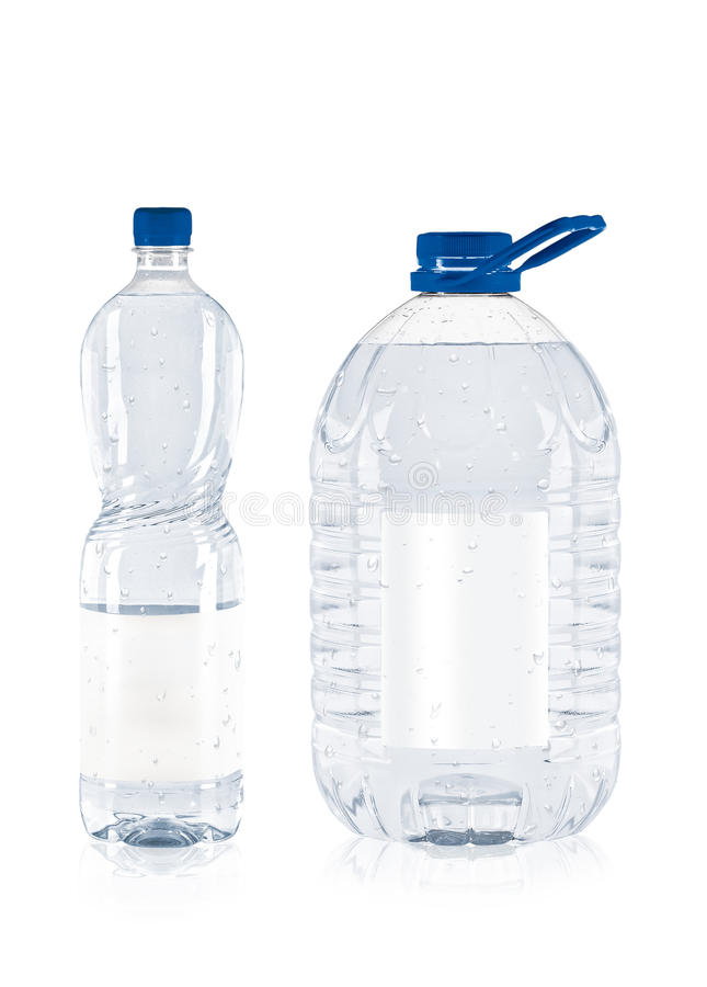Download Two plastic bottle stock photo. Image of isolated, cercle - 15249566