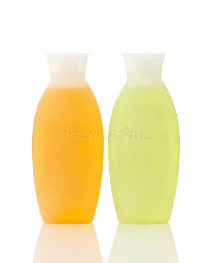 Download Two plastic bottles stock photo. Image of body, hygiene - 24107036