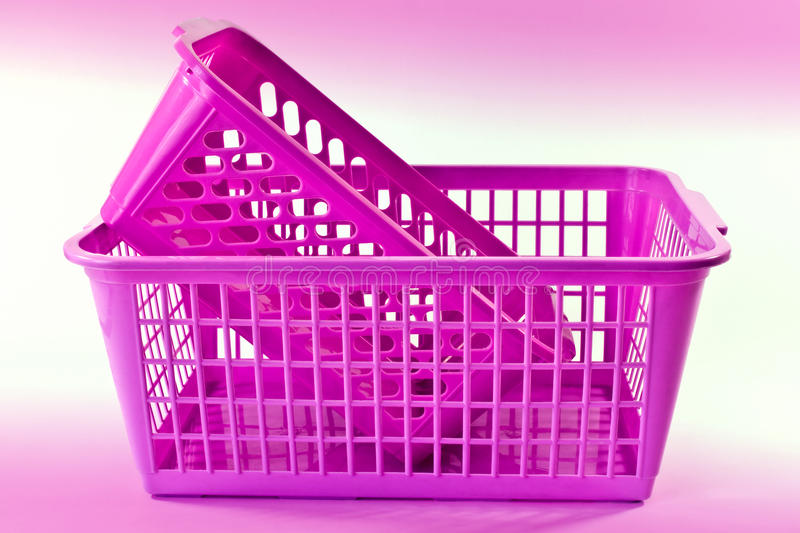 Download Plastic baskets stock image. Image of storage, objects - 20956073