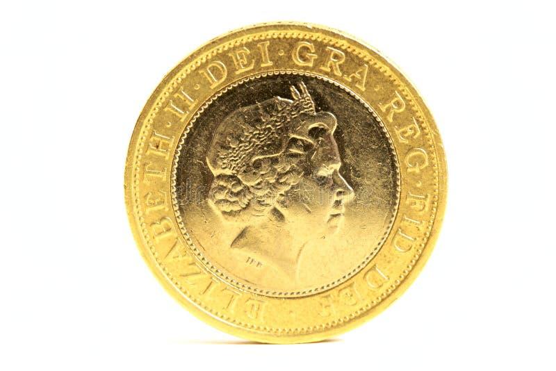 Two pound coin stock photos