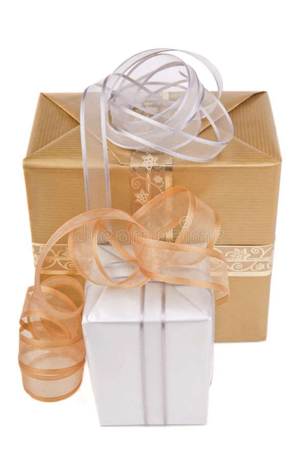 Free Two Presents Royalty Free Stock Images - 27538899