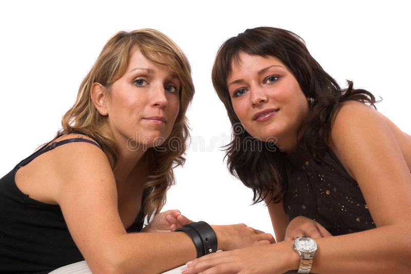 Download Two pretty sisters stock image. Image of background, beauty - 1424629
