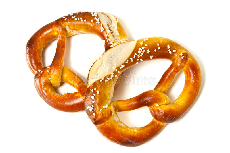 Download Two Pretzel Royalty Free Stock Photography - Image: 20935237