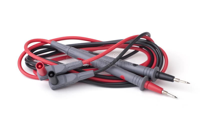 Download Two Probes  On White Stock Image - Image: 27621961