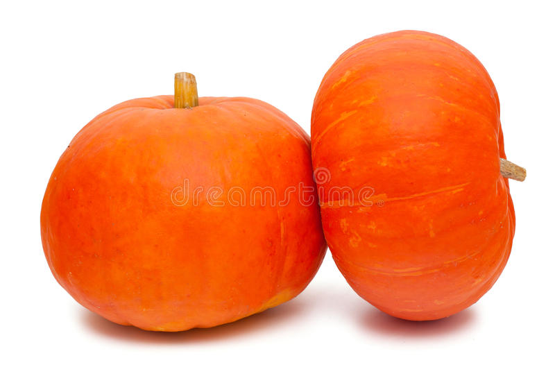 Download Two pumpkins stock image. Image of closeup, farm, decoration - 33412483