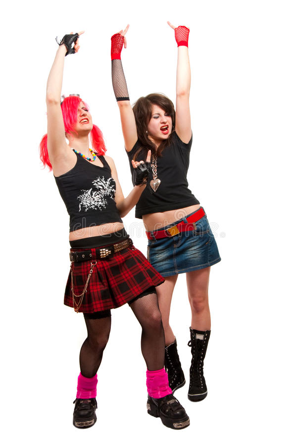 Download Two Punk Girls Stock Photos - Image: 10771013