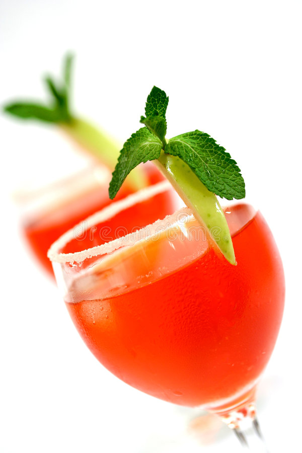 Download Two Red Cocktail Concoction Stock Photo - Image of fresh, toast: 2321546