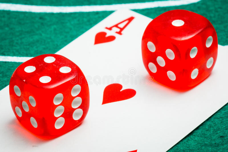 Download Two Red Dice Royalty Free Stock Photos - Image: 36344428